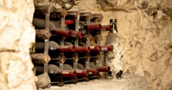 Old Chalk Mine Cellar