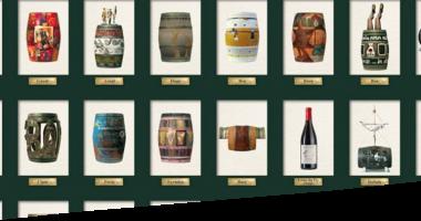 Bib'Art Wine Barrels