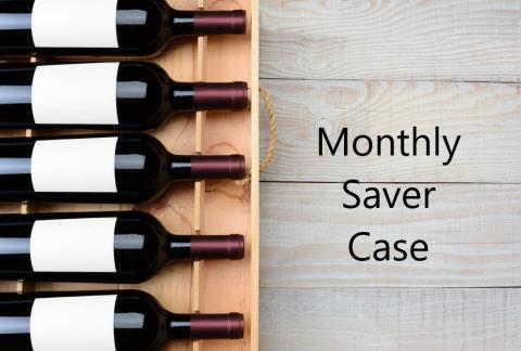 Wine Cellar Club Monthly Saver Case