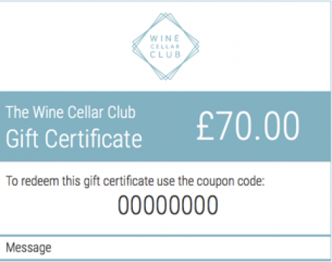 £70 Gift Certificate