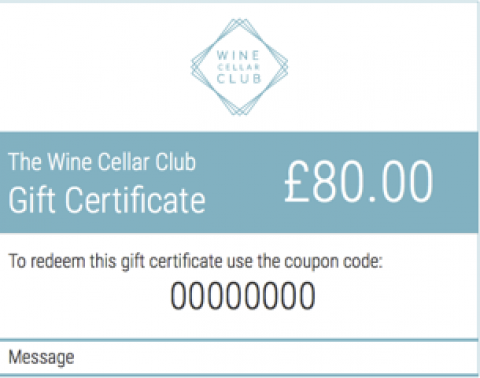 £80 Gift Certificate