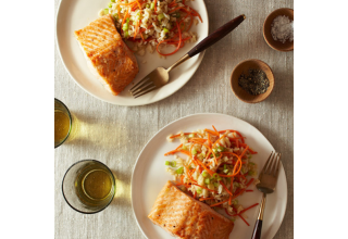 Salmon with Thai Rice Salad