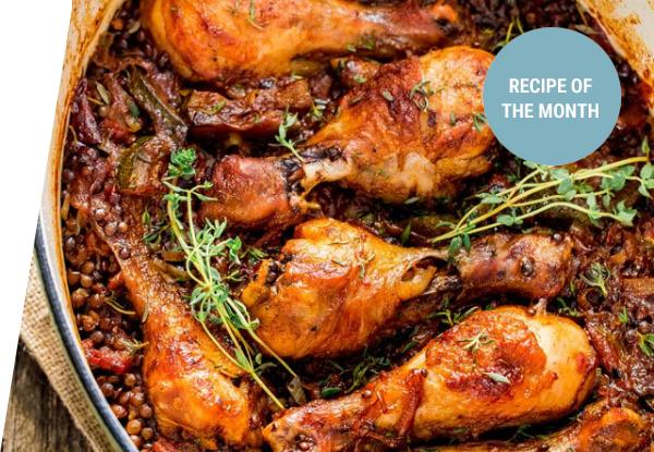 One-Pot Chicken Drumsticks